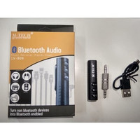 Bluetooth Wireless Audio Music Receiver Aux 3.5mm M-Tech LV-B09