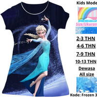 Kids Mode |Baju Anak Frozen | Dress Anak Cewek Disney Frozen Princess