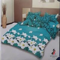 bed cover lady rose sprei karet no2 uk 160x200 motif Lena