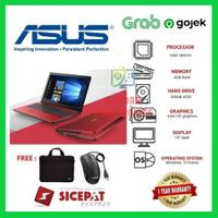 Laptop ASUS X441 RAM 4GB Windows 10 / FREE MOUSE