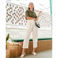 [MyYoora] Avery Casual Pants Celana Panjang Wanita JP416