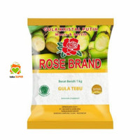 gula pasir 1kg rosebrand - Kuning