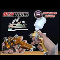 Spray Gun HVLP Mini Nozele 0,8mm-1,mm-1,4mm - Original BESTTOOLS