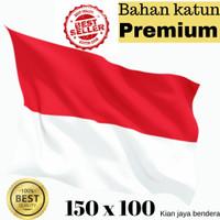 MURAH !! BAHAN KATUN bendera merah putih ukuran 150x100