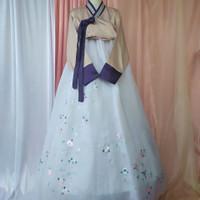 hanbok baju adat tradisional korea kostum costume ag01