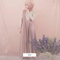 baju muslim wanita terbaru/rifana Maxi gamis berukat trendi/baju cewe