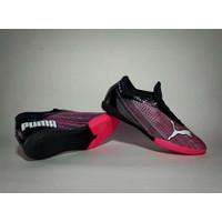 (REAL PICT) Sepatu Futsal Puma Ultra Pink Bahan Import Murah Terlaris