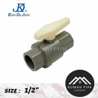 Ball valve 1/2 / Stop Kran 1/2 King Da Jeng - KDJ