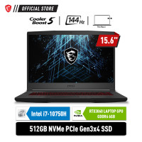 MSI GF65 Thin 10UE-263ID i7-10750H 16G 512GB RTX3060 6GB 15.6 144Hz