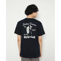 Kaos Unisex Erigo T-Shirt Eastern Cotton Combed Navy