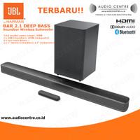 JBL Bar 2.1 Bar2.1 Deep Bass Soundbar Surround with wireless subwoofer