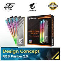 GIGABYTE AORUS RGB 16GB (8X2) DDR4 3200MHz [RAM]