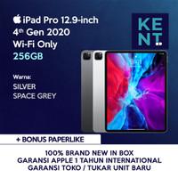 Apple iPad Pro 4th Gen 2020 12.9 inch Grey/ Silver 256GB Wifi Only - Silver