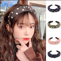 Bando Headband bandana korea style motif totol