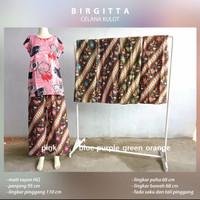 Celana Kulot Batik Wanita Panjang Rayon Dewasa Adem Terbaru