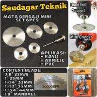 Mata Gerinda Mini Diamond Cutting disc Mini Grinder Rotary File Set