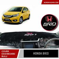 karpet dashboard bulu cover dashboard mobil Honda Brio Satya RS