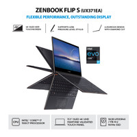 ASUS ZenBook Flip S UX371EA HL701TS 4KUHD i7 1165G7 16GB 1TB OHS TOUCH