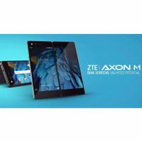 hp android dual screen keren hp zte axon m ram 4bkan w2014 w2017 w2019