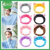 Headband Kuping Kucing Bandana Mandi Facial Bando Rambut Cute Hairband