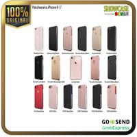Patchworks Casing iPhone 8 / 7 Hardcase Softcase Anti Crack Banting