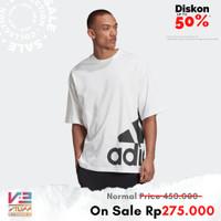 Tshirt Oversize Adidas Sportswear 60 BIG BADGE OF SPORT BOXY TEE White - S