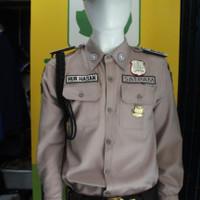 Baju seragam satpam -terbaru PDL SUS Bahan GAIA Neo Premium (Atasan)