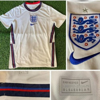 Jersey Baju Sepak Bola Timnas Inggris England Home Putih XXL 2020 2021