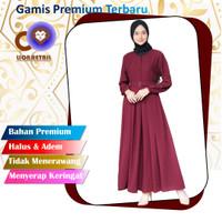 baju gamis terbaru abaya remaja kekinian modern 2021 wanita dress maxi