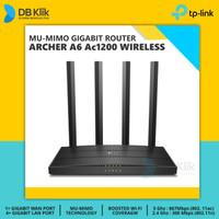 Mesh WiFi Router TP Link ARCHER A6 AC1200 MU-MIMO - TPLink A6 AC 1200