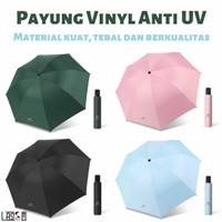 Payung Lipat Premium Anti Sinar UV Matahari Panas Hujan Protection