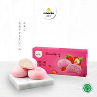 Miwaku Mochi Ice Cream Strawberry (isi 3pcs)