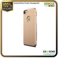 Patchworks Casing iPhone 8 Plus 7 plus Fusion Hard Softcase Anti Crack - Pure-Gold
