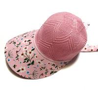 Topi Anak Remaja Perempuan 7-18 Tahun Pantai Golf Korea Caddy Rajut UV - Pink K