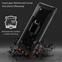 REALME XT ULTIMATE RUGGED RING STAND ARMOR SOFT HARD CASE CASING OPPO