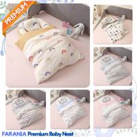 Tempat Tidur Bantal Tidur Kasur Baby Nest Set Plus Bedcover Bayi