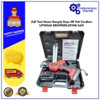 JLD Tool Mesin Gergaji Kayu 36 Volt Cordless LITHIUM RECIPROCATING SAW