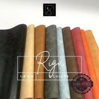 Bahan Sintetis Meteran GARANSI PVC - RIGA 1x1,37M - Maroon