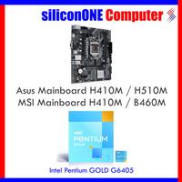 Paket Intel G6405 + Mainboard H410M H510M B460M B560M