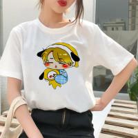 Kaos Katun Chibi Jimin BT21 | Baju BTS | Atasan Unisex | Polos