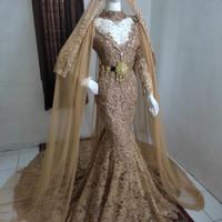 gaun pengantin / baju koto gadang / kebaya duyung