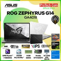 ASUS ROG ZEPHYRUS G14 GA401II RYZEN 7 4800HS 8GB 512GB GTX1650Ti 4GB