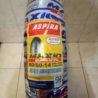 ban luar tubeless tubles aspira 80/90-14 80 90 14 spr38 aspira maxio