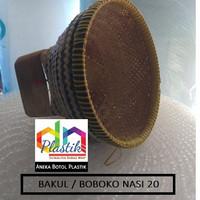 BAKUL NASI BOBOKO BAMBU 20 MURAH