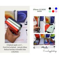 Iphone 12 mini 64gb second fullset mulus terawat - black