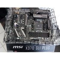 MSI X370 SLI PLUS Motherboard Mobo am4 ddr4 untuk ryzen