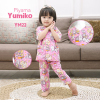 Baju Tidur anak Perempuan katun nyaman YuMIKO series 4 by Shofwah