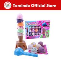 Tomindo Mainan Es Krim Ice Cream Tower Maenan Edukasi Anak