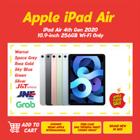 Apple iPad Air 4/ 4th Generation 2020 10.9 Inch 256GB Wifi Only - Space Gray