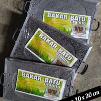 Batu Bakar Granit/Alat Panggang Serbaguna/Griller Sehat Alami